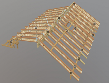 Roof Detail Map